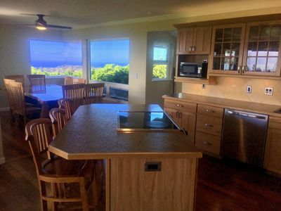 Fabulous views from kitchen and new dining room