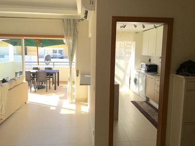 Entrance - Access to kitchen and living room -  Cabanas Beach