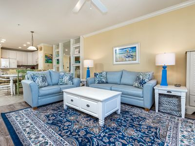 Photo for Relax in Luxury - Beautiful Condo in Bayfront Resort, Wi-Fi, Pools, Pond Views