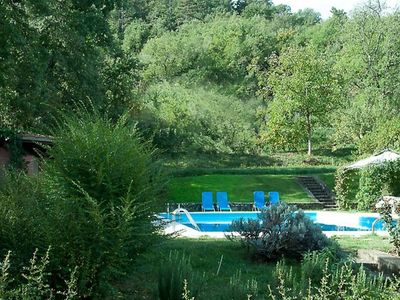 Photo for large private pool, beautiful garden, free Wifi