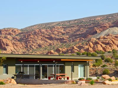 Photo for Secluded, Modern Home, Amazing Views, 2 Car Garage, Hot Tub, Pet Friendly
