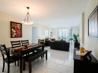 Photo for GREAT APARTMENT ON BEACH !! POOL, GYM, WIFI, PARKING. 1 BED 1 BATH
