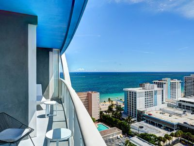 Photo for Modern Luxury Beachfront Hotel Large 1 Bedroom Great Views + 2 Balconies 20
