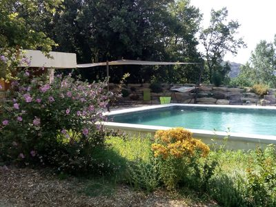 Photo for Charming B & B in the farm of the red bridge in Malaucène