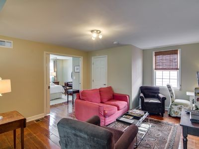 Photo for CHARMING Historic District Apt Fresh Decor-Near UPSCALE Dining-Retail+Market