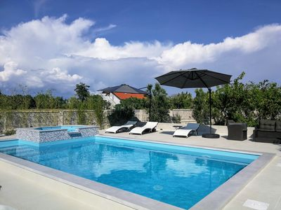Photo for Studio with Pool View - Villa Flora Maris