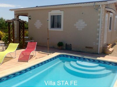 Photo for Villa with private pool in the Tranquility of the countryside