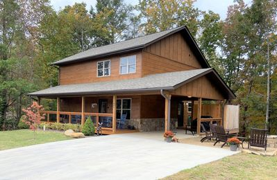 Photo for NEW! Welcome to Blue Sky! A Luxury Gatlinburg Cabin with great amenities!