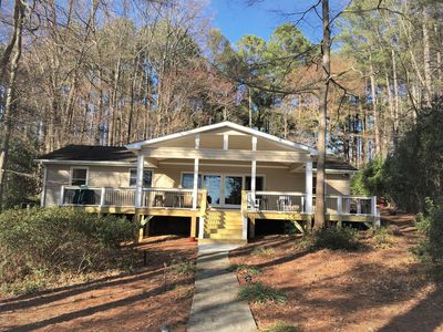 Photo for New in 2019! Lake Gaston Lakefront Home, kayaks, SUPs, boat launch nearby