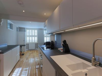 Photo for Nelson Crescent East: Modest one bedroom apartment on the West Cliff of Ramsgate