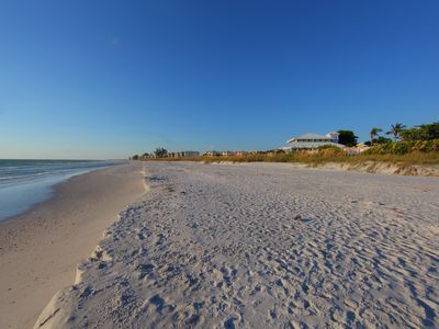 Photo for Boca Grande condo just steps to beautiful gulf beach