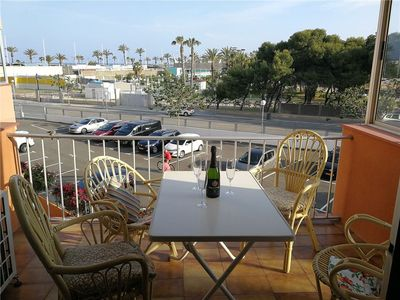 Photo for Nice apartment with terrace 50m from the beach and everything in La Pineda.