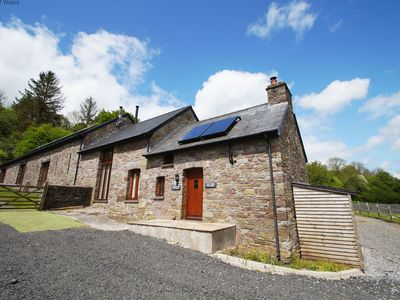 Photo for Onnen Fawr Cottage -  Rural cottage with hot tub and wood stove