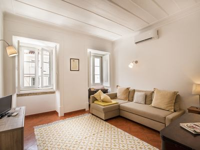 Photo for Cosy apartment at Praça da Alegria near Avenida da Liberdade with AC