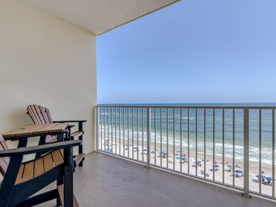 Photo for Local Owner - Crystal Shores 706 - Great 7th Floor Views Directly on the Beach!!