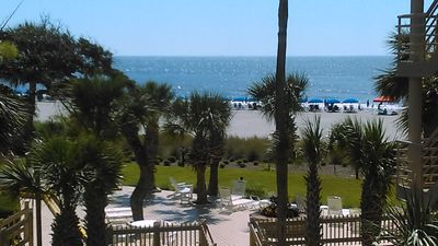 Photo for BEAUTIFUL OCEAN VIEW!  2 MASTER SUITES! VIEW IS FROM BALCONY!
