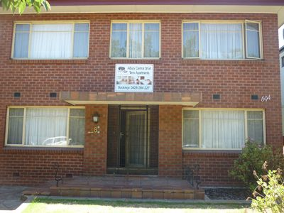 Photo for 1BR Apartment Vacation Rental in Albury, NSW