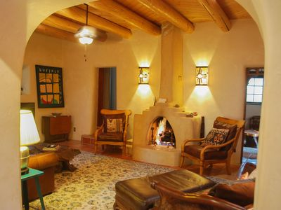 Photo for Alfred's Hacienda, Artistic charm, Close to Taos, 3 bedroom, hot tub & big yard