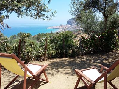 Photo for Unni House in Cefalu, with panoramic garden and parking