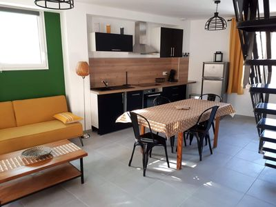 Photo for In the heart of the village of Torreilles, apartment F3 nine