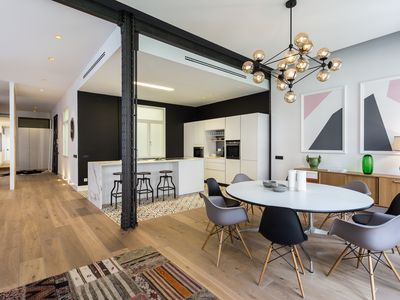 Photo for Amazing designer 4 bedroom apartment in the best area of Madrid