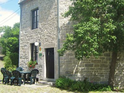 Photo for Charming accommodation with garden located along the river The Viroin.