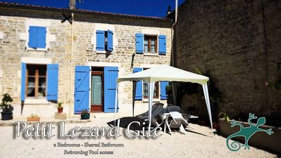 Photo for Le Petit Lezard sleeps 5 (2 Bedrooms & 1 bathroom)