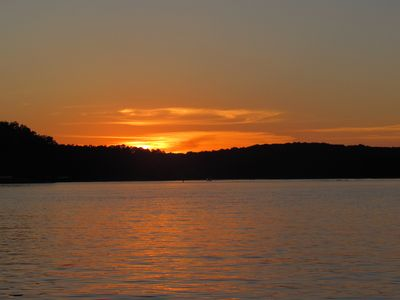 Photo for Lake View Cottage - Gorgeous Sunsets