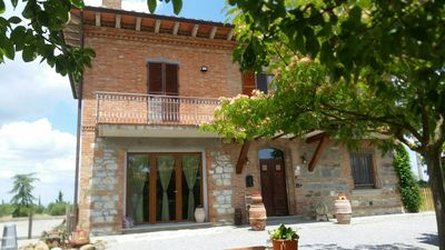 Photo for holiday home in Montepulciano with 9 beds 3 bathrooms