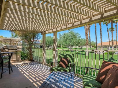 Photo for Horizon Palms Condo, close to Indian/W Tennis Garden, Pool access,Private Deck and Grill 30/day min