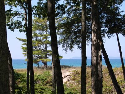 Photo for Riverfront 1b/1b Condo with Lake Michigan Access & Views in Glen Arbor!