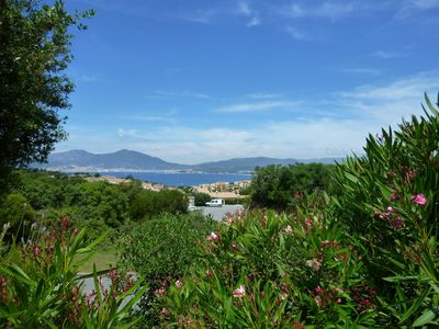 Photo for Mini villa of 50 m², panoramic view of the Gulf of Ajaccio