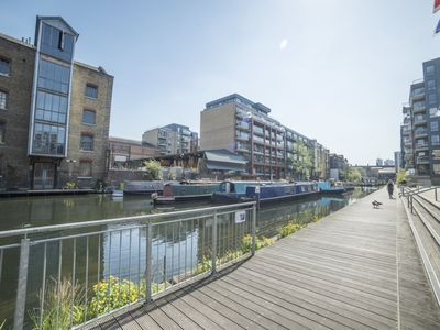 Photo for Modern Canal Flat with Terrace
