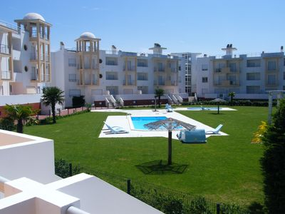 Photo for 3 Bed Ground Floor Apartment. Spectacular Sea Views, Pools & BBQ areas.