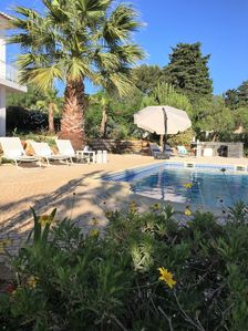 Photo for Unforgettable romanti. Vacation?Quiet villa, well kept garden, BBC, priv. pool