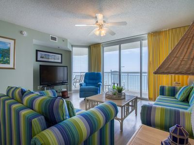 Photo for Crescent Shores Luxury Vacation w/ Ocean Front Balcony & Breathtaking Views!