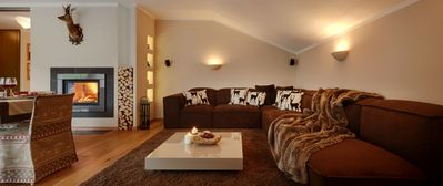 Photo for Luxury apartment in the heart of the Dolomites