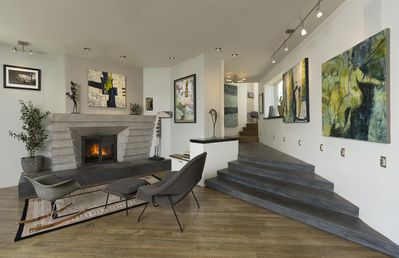 Photo for Elegant modern art home with private terraced gardens,  Durango CO.