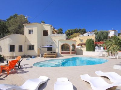 Photo for VILLA MIDAMA, fully refurbished, mountain views, welcoming pool and gardens