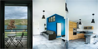 Photo for Beautiful apartment on the edge of seine Vernon giverny sleeps 8