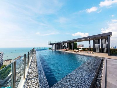 Photo for Stunning Infinity Pool @The Base Pattaya