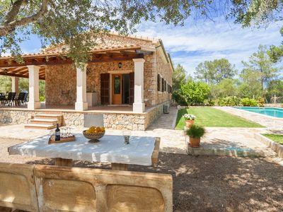 Photo for Finca Isabel, nature stone finca with pool, great location, chill out, barbecue
