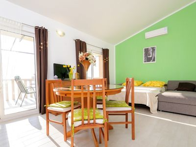 Photo for friendly and brightly decorated apartment with stunning sea view