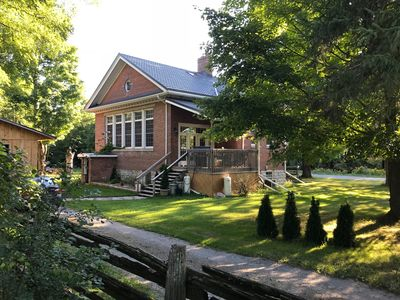 Quiet Country Retreat at the Old Ingram Schoolhouse