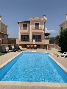 Photo for SPECIAL OFFER!!!  Luxury 5 Star Villa, 200m to Beach, Private Pool, Tennis Cour