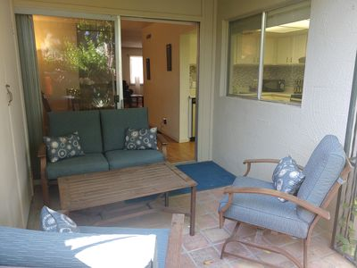 Terrace Condo - outside living and BBQ!