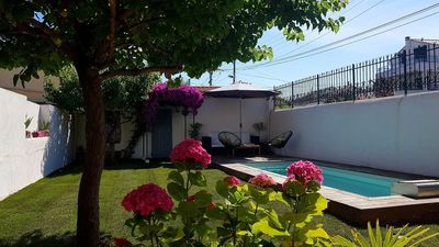 Photo for Pointe Rouge house swimming pool / close to beach