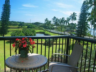 Photo for Beautiful Oceanview 1 Bedroom Poipu Condo
