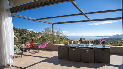 Photo for SEA VIEW 5 BEDROOMS LOCATED BETWEEN PALOMBAGGIA & SANTA GIULIA