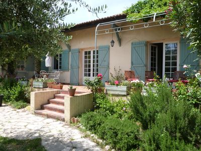 Photo for village house with pool and garden between Montpellier and Nimes